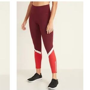 7/8 High Rise Elevate Leggings-Old Navy Active